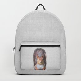 Squirrel - Colorful Backpack