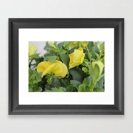 Flower Fridays Framed Art Print