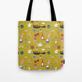 Dinner time - Fabric pattern Tote Bag