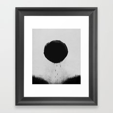 Sun Devoured Earth Framed Art Print