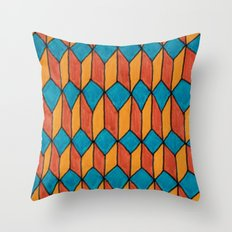 Pattern color Throw Pillow