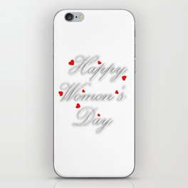 International womens day iPhone Skin