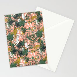 ANIMALS IN THE RAINFOREST I Stationery Cards