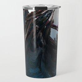 Shattered Wavez Travel Mug