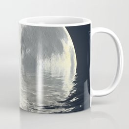 melting moon Coffee Mug