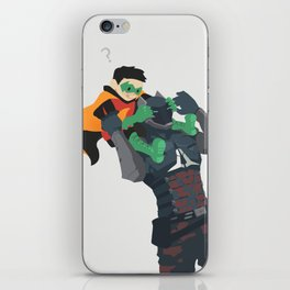 Who are you iPhone Skin