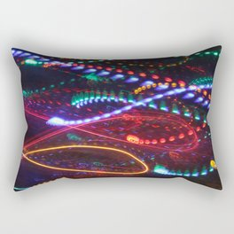 Sizzle and Pop light painting Rectangular Pillow