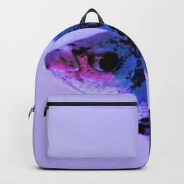 Fighting Fish Lavender Backpack
