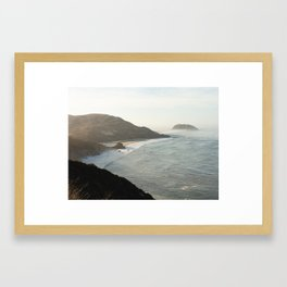 Sunrise over Big Sur Framed Art Print