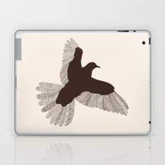 Bird (On Beige) Laptop & iPad Skin