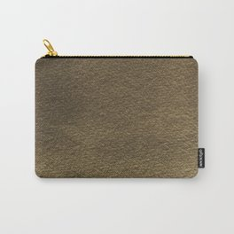 Warm Textured Paper effect Carry-All Pouch
