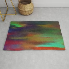 Abstract clear Rug