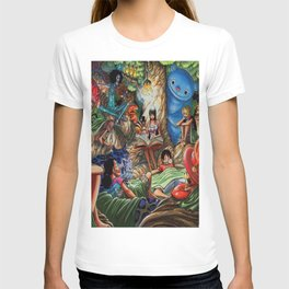 One piece of sleep with friends T-shirt