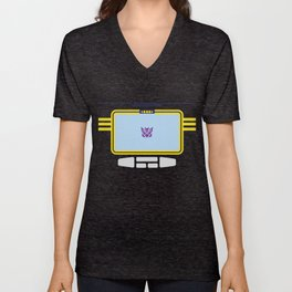 Soundwave Transformers Minimalist Unisex V-Neck