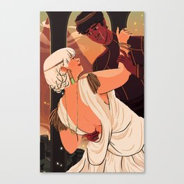 The Dumpling Princess - THE WEDDING Canvas Print