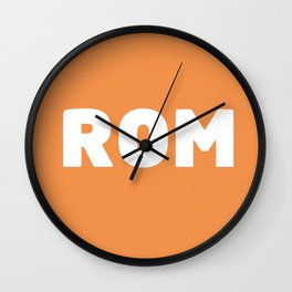 ROM Wall Clock