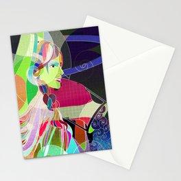 Aquarius #6 Stationery Cards