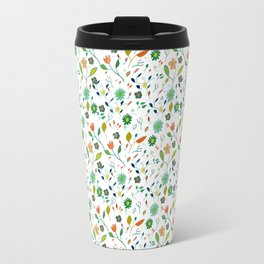 Floral Pattern IV simple draw Travel Mug