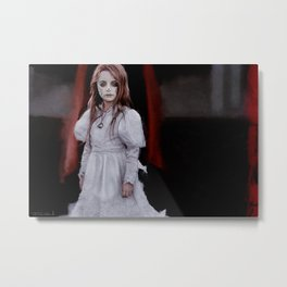 Dia de los Muertos - Little Angel Metal Print