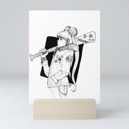 Bad Usagi - Sailor Moon Fanart Mini Art Print