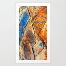 Earthy Jewel Art Print