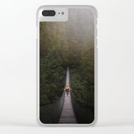 Explore the Forest Clear iPhone Case