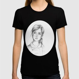 nightmare in silver T-shirt