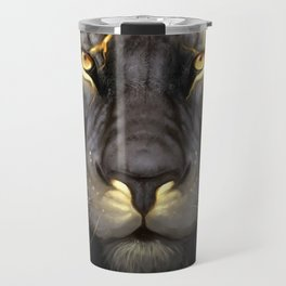 LION-GOLD-ART Travel Mug