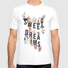 Sweet Dreams Mens Fitted Tee White MEDIUM