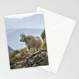 The Ups and Downs of Being A Mountain Goat No. 2a Stationery Cards