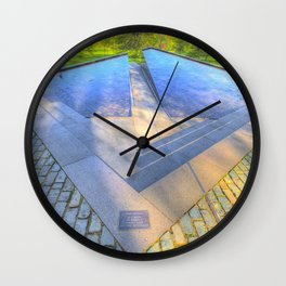 Canadian war Memorial Green Park London Wall Clock