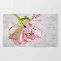 Vintage Tulip Rug