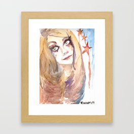 Be Dope Be Proud Like An American  Framed Art Print