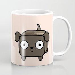 Pitbull Loaf- Brindle Pit Bull with Floppy Ears Coffee Mug