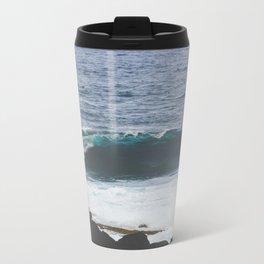 Lanzarote waves Metal Travel Mug