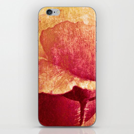 Poppy #II iPhone & iPod Skin