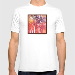 Towers between the trees T-shirt