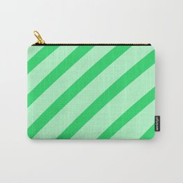 Leaf Stripes Carry-All Pouch