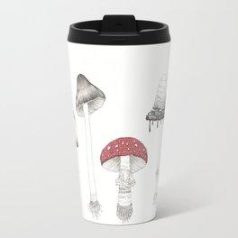 Poisonous Mushrooms Travel Mug