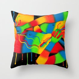 Quarantine Bright Side Throw Pillow