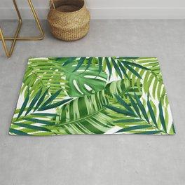 Tropical leaves III Rug