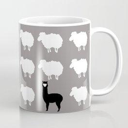 Don't be a sheep, Be a Llama Coffee Mug