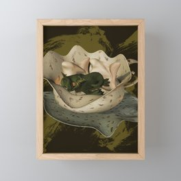 Fabled Cup of Dreams Framed Mini Art Print