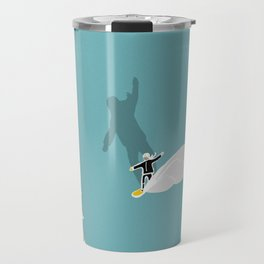 Girls snowboarding Travel Mug