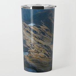 Mountain Sunset Travel Mug