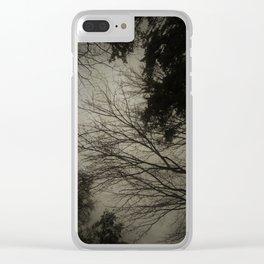 Dark sky Clear iPhone Case