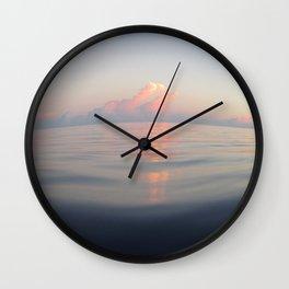 Little Cayman Sunset 2 Wall Clock