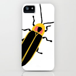 Lightning Bug iPhone Case