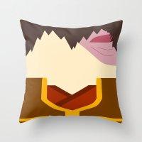 zuko Throw Pillows featuring Zuko by Lindsay Isenhour