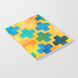 Positivity / Abstract Geometric Pattern Notebook